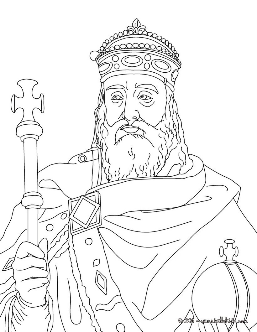 king coloring pages to download and print for free