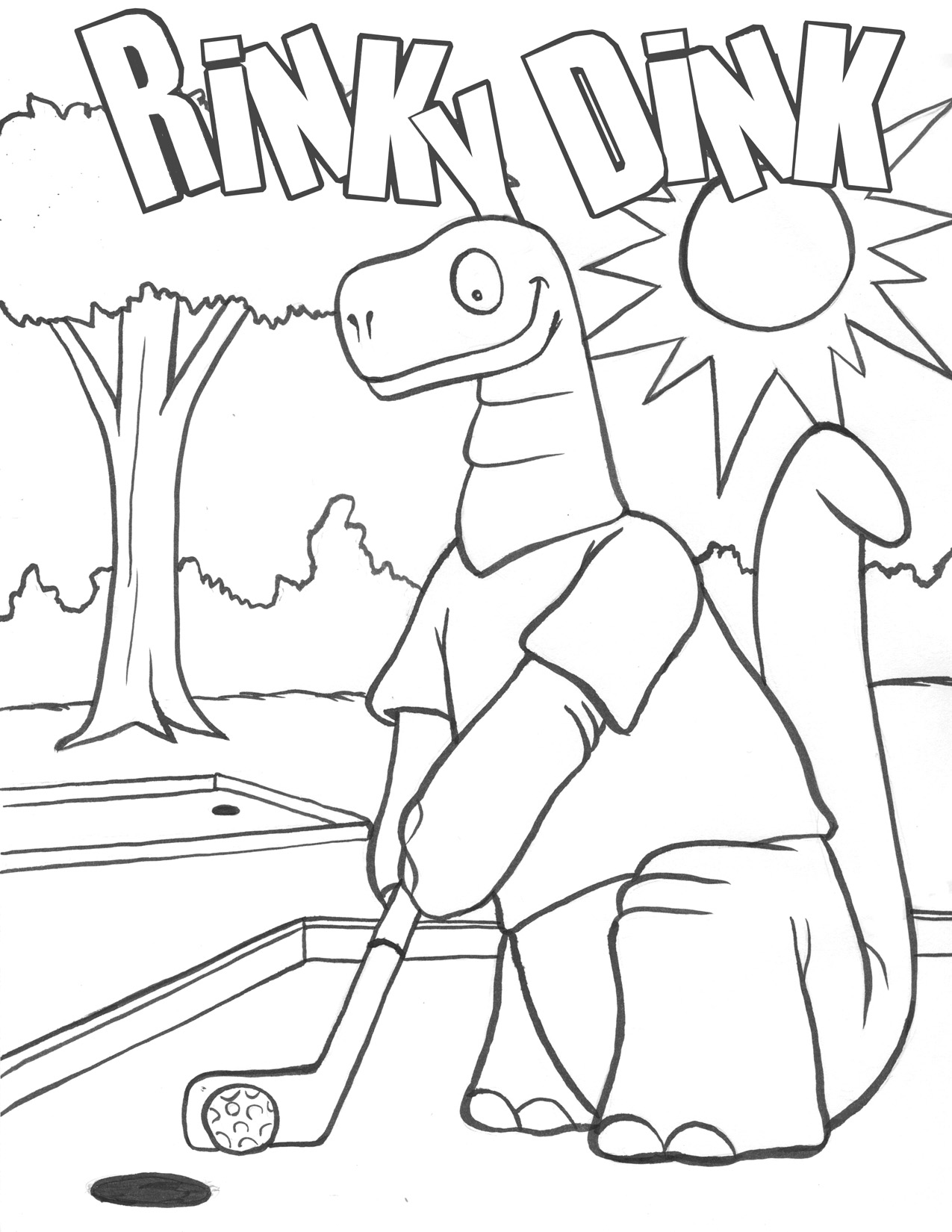 Coloring Pages Golf Coloring Page golf coloring pages to download and print for free pages