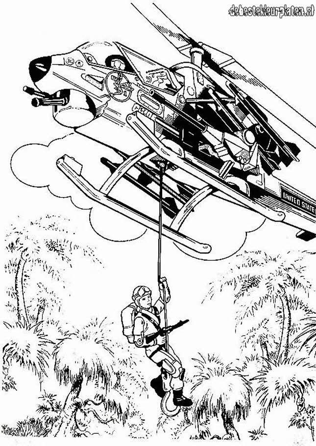 Gi Joe Coloring Pages To Download And Print For Free