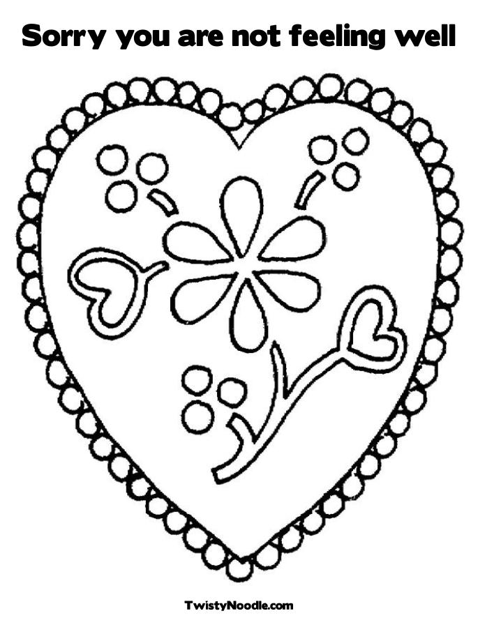 get well soon coloring pages - Etame.mibawa.co