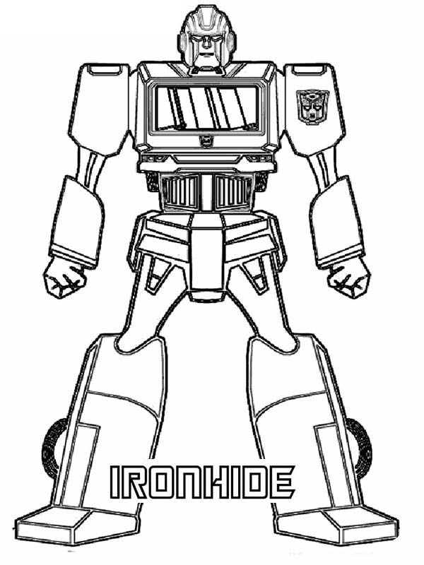Transformer coloring pages to download