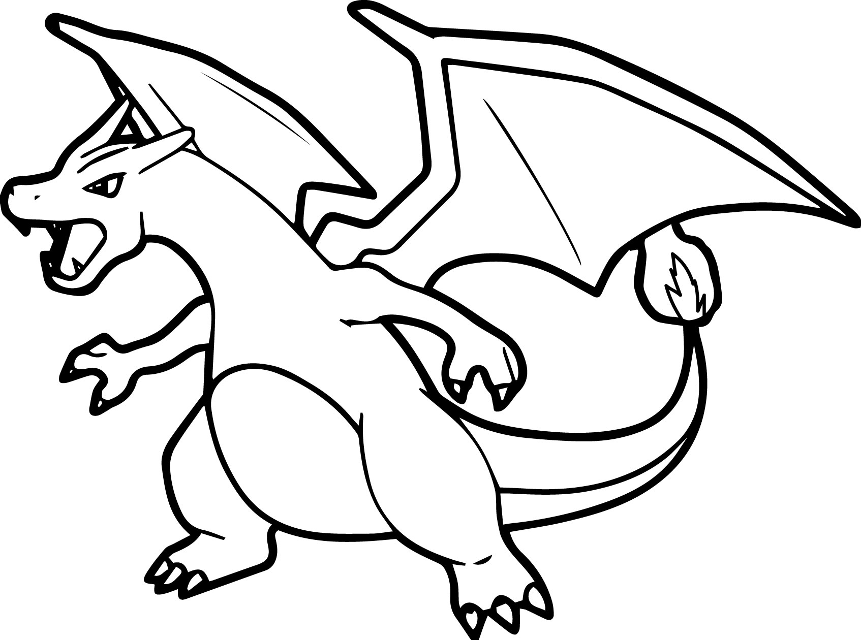 charizard coloring pages - photo#7