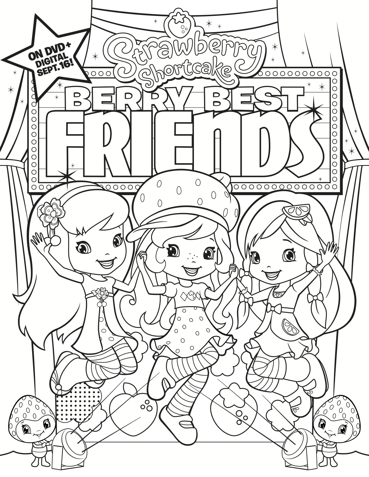 best friend coloring pages - Best Color Sheets