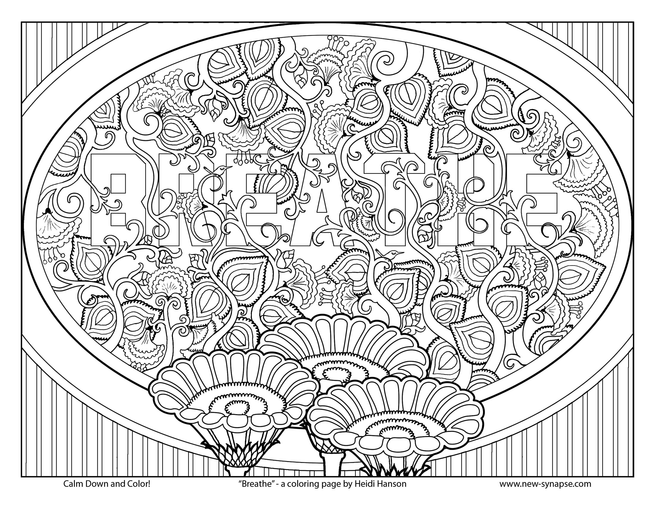 therapy coloring pages - Fill In Coloring Pages