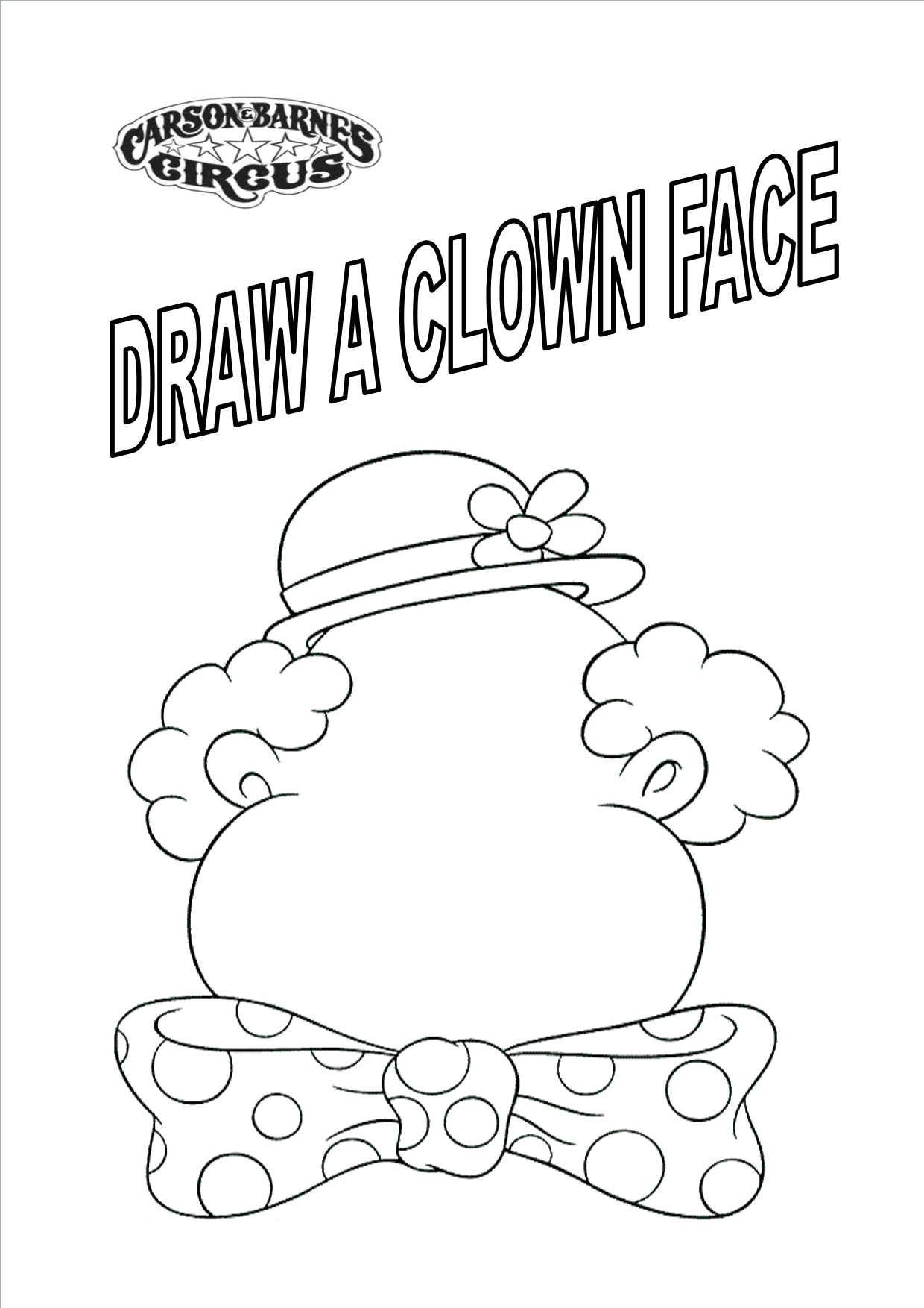 Circus coloring pages to download and print for free