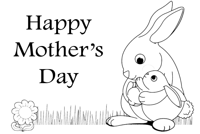 Coloring Pages Mothers Day : Happy mothers day coloring pages download and print for free