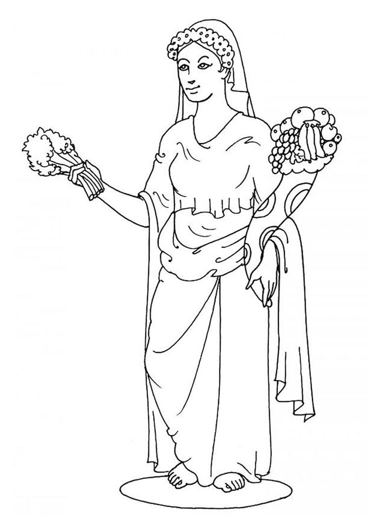 Artemis coloring pages download