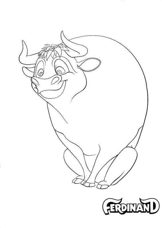 Ferdinand coloring pages to download
