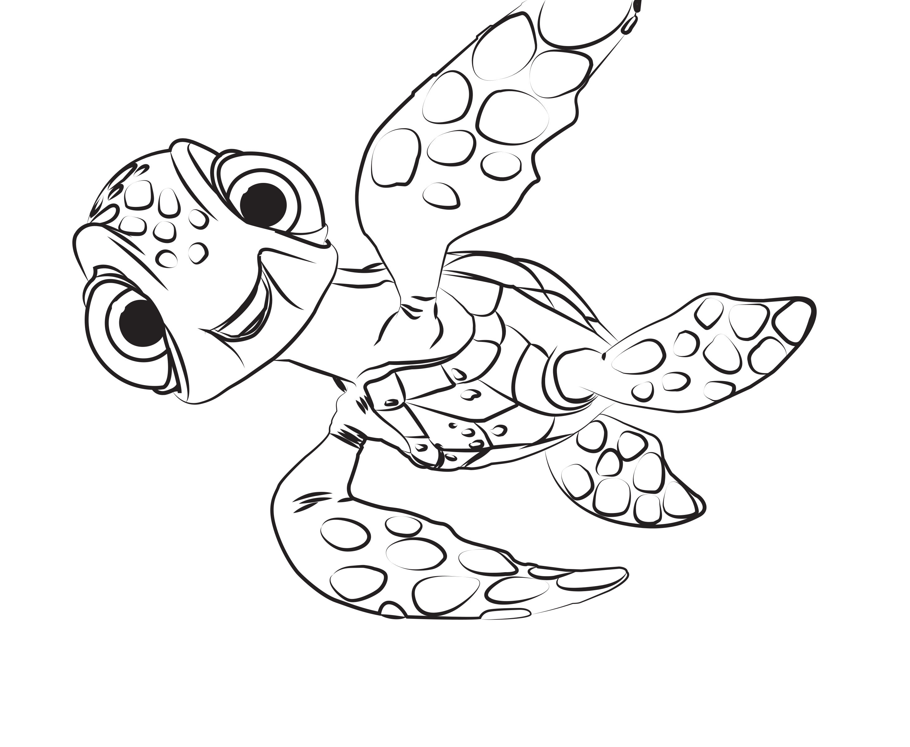 Finding Dory coloring pages to