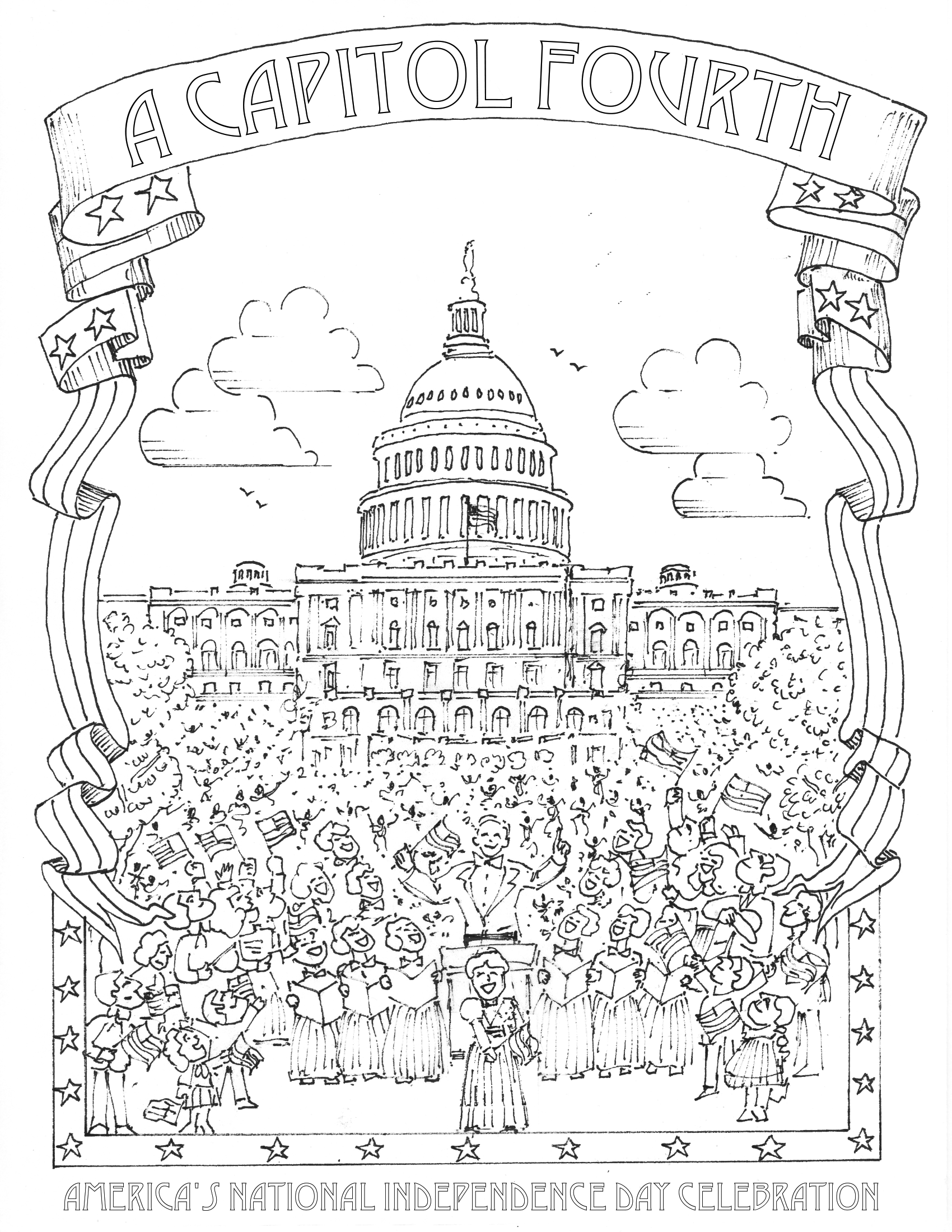 National Monuments Coloring Pages Download And Print For Free