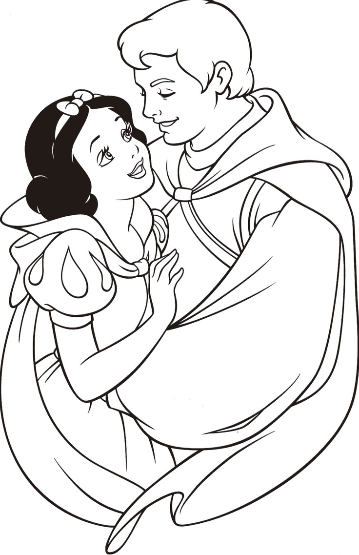 Coloring Pages Snow White Color Pages snow white coloring pages to download and print for free pages