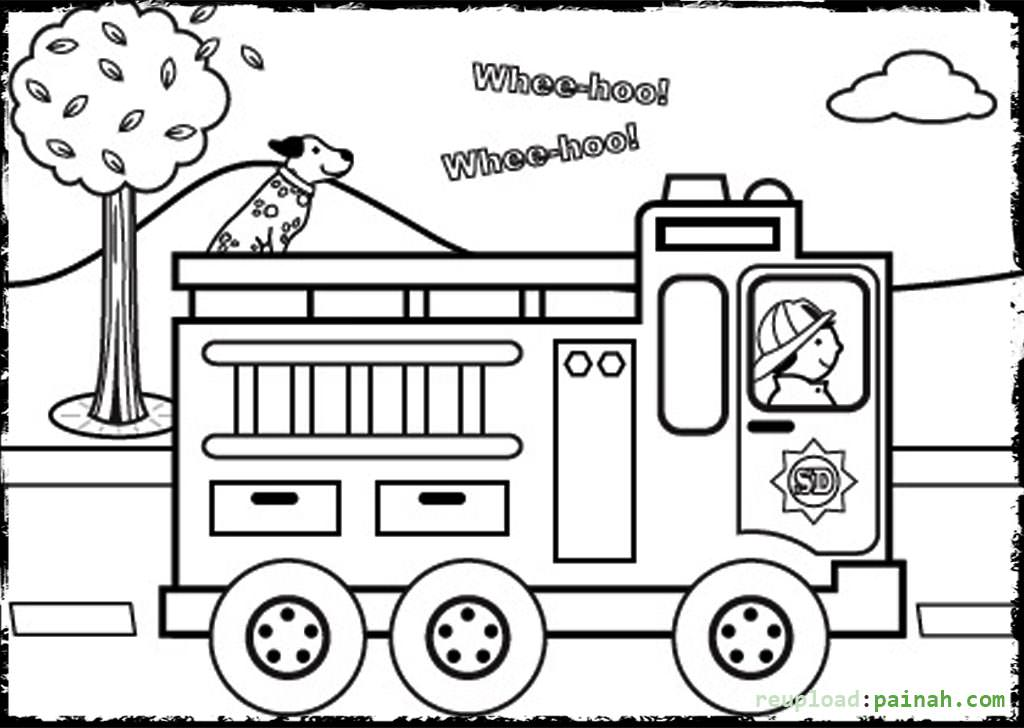 childrens fire safety coloring pages - photo#34