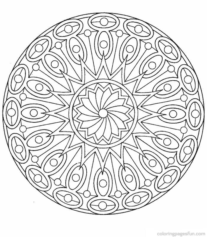 art therapy coloring pages - Simple Therapeutic Coloring Pages