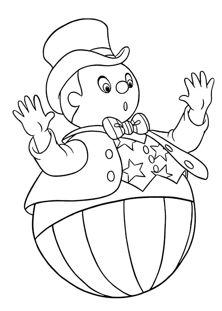 Noddy coloring pages download and print for free