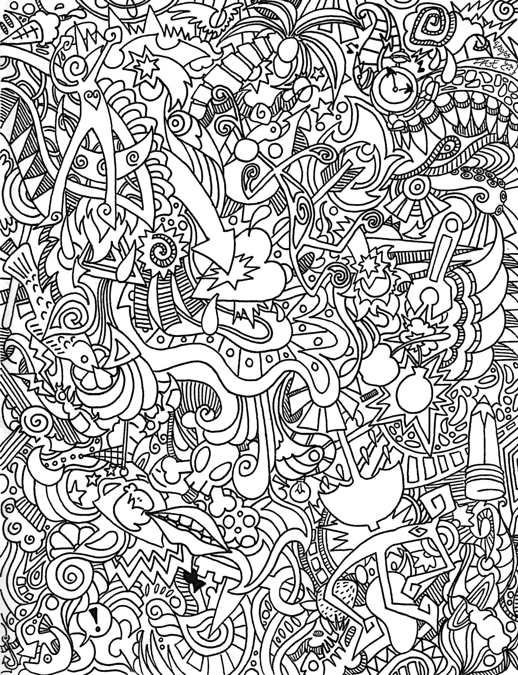 Coloring Pages Trippy Color Pages psychedelic coloring pages to download and print for free inspirational pages