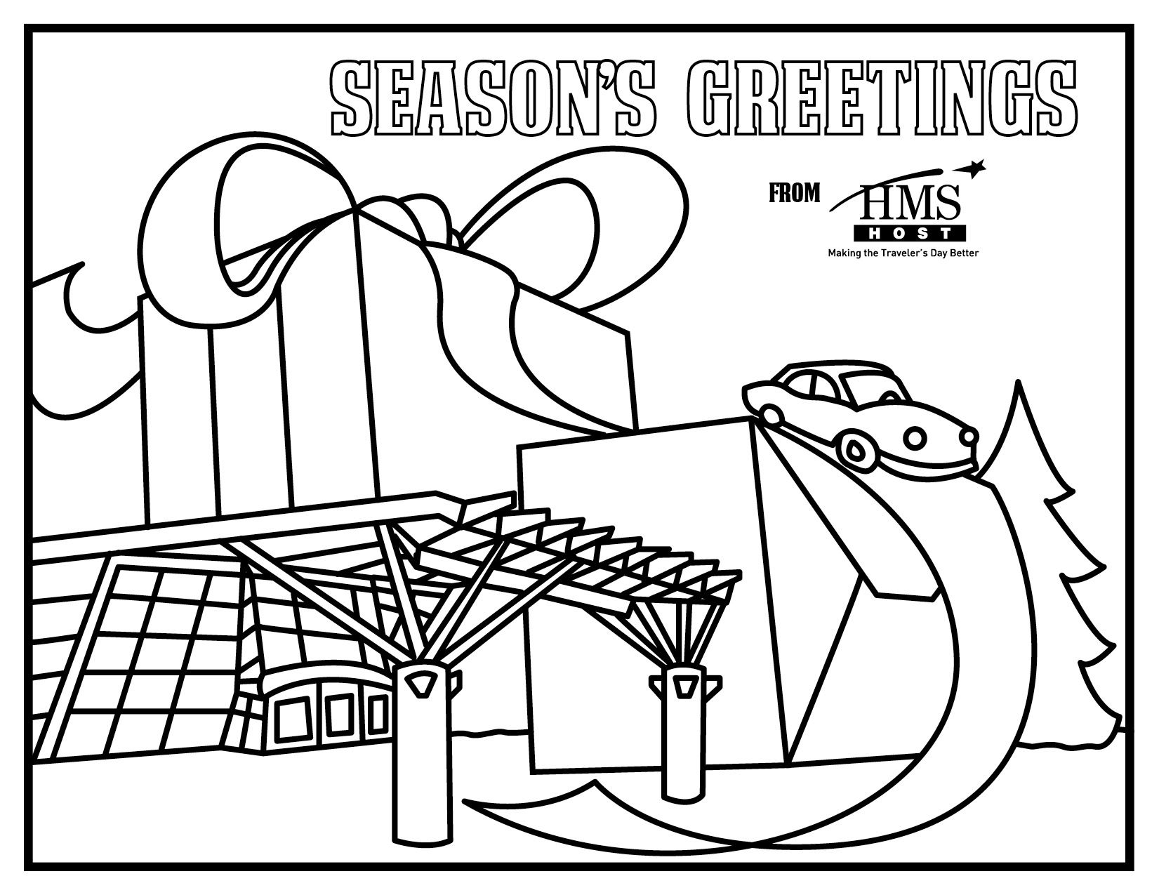 Holidays coloring pages download