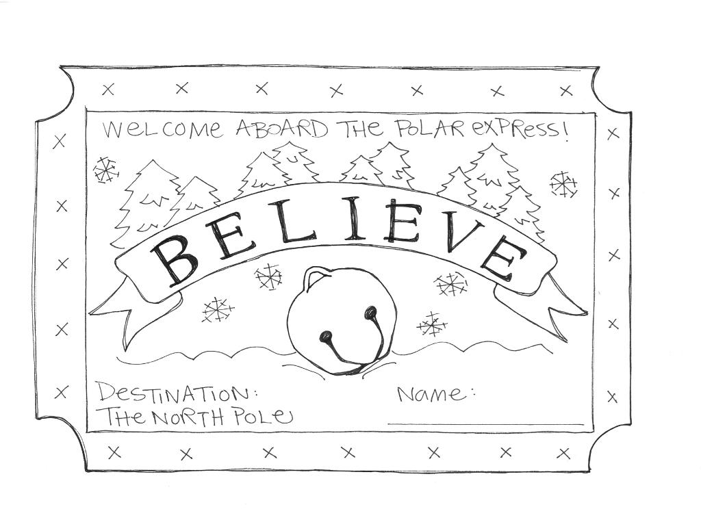 Polar Express Coloring Pages To Download And Print For Free The Polar Express Coloring Pages