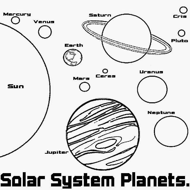 planet coloring pages - Planet Coloring Pages