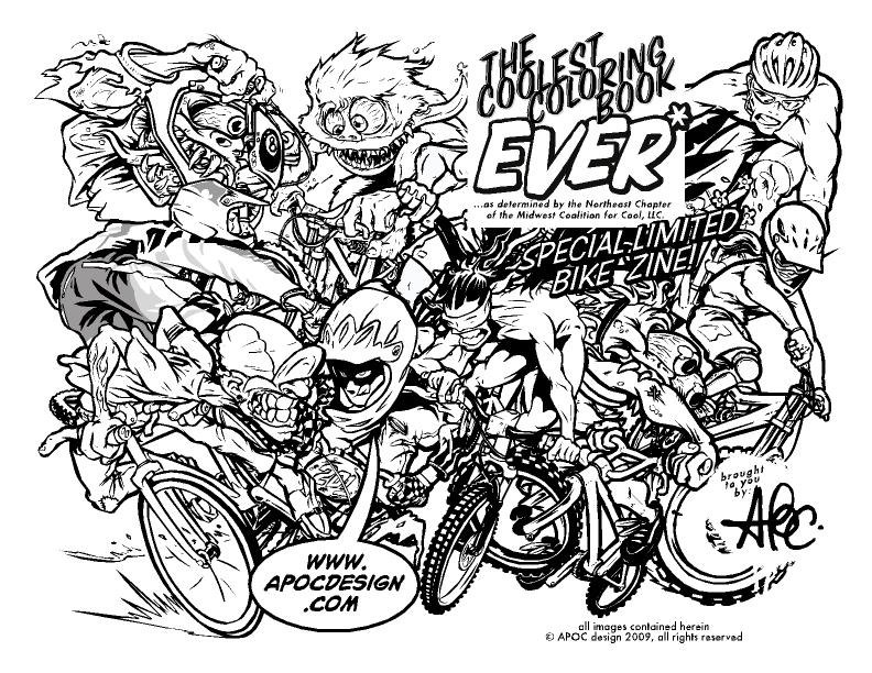Motocross coloring pages to download and print for free