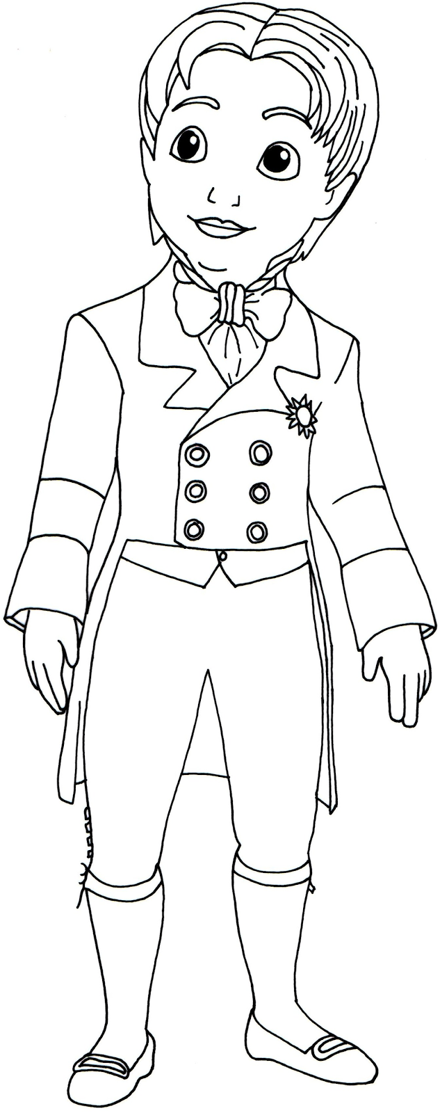 Prince coloring pages to download