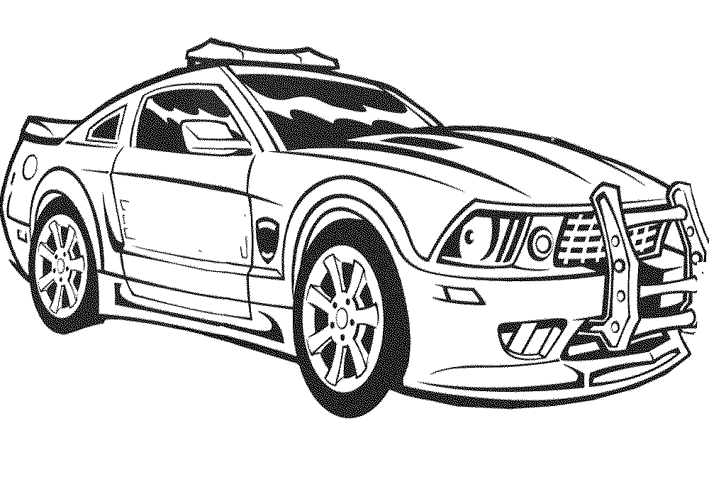 police car coloring pages to download and print for free. Black Bedroom Furniture Sets. Home Design Ideas