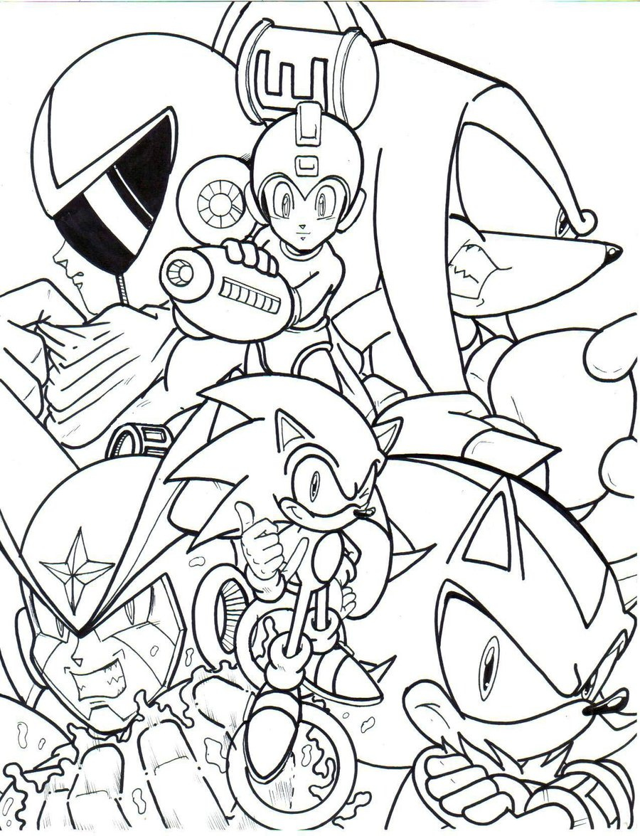 Coloring Pages Megaman Coloring Pages mega man coloring pages to download and print for free pages