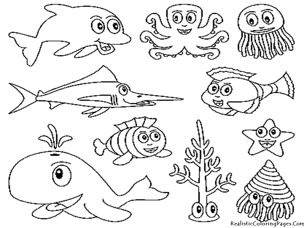 Underwater Coloring Pages To Download And Print For Free Underwater Coloring Pages
