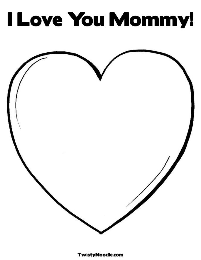 I Love You Mom Coloring Pages To Download And Print For Free I You Color Pages