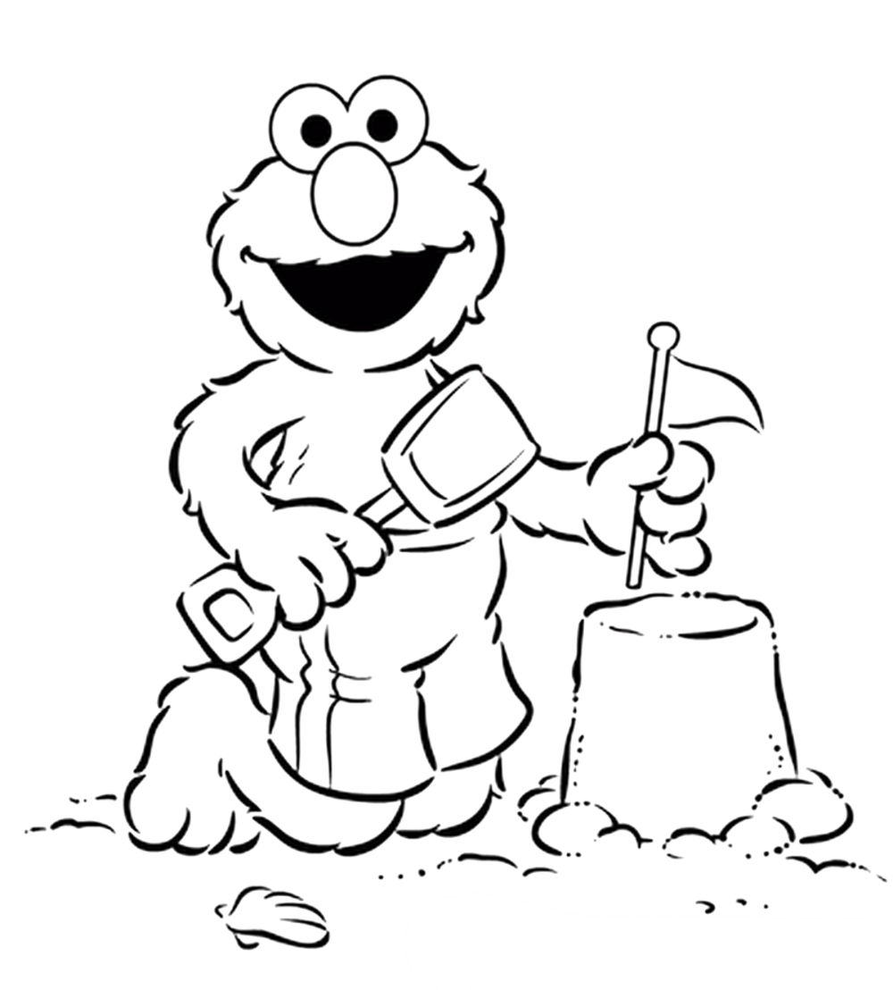 Coloring Pages. Coloring Pages Of Elmo. Breadedcat Free Printable ...