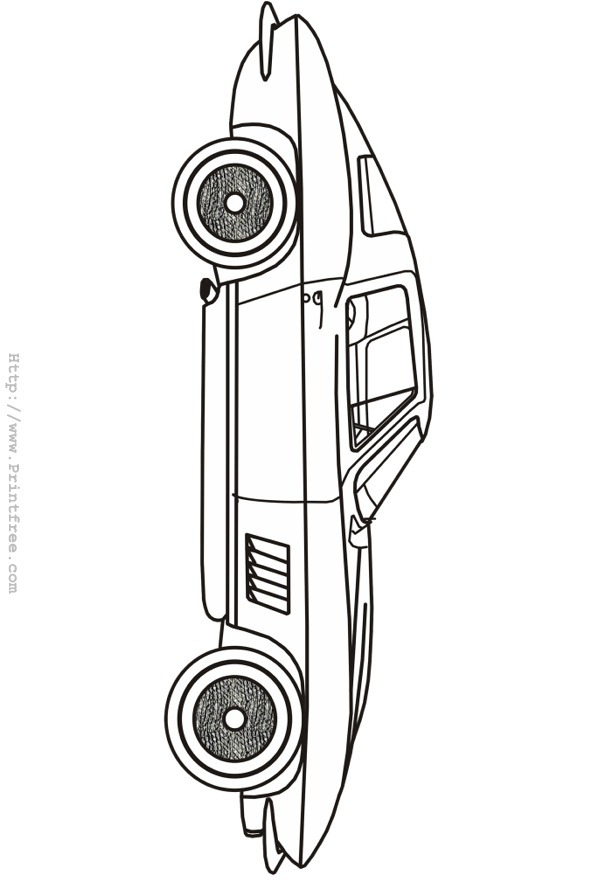 Corvette coloring pages to download