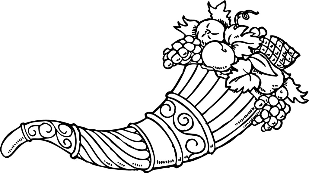Cornucopia Coloring Pages To Download And Print For Free