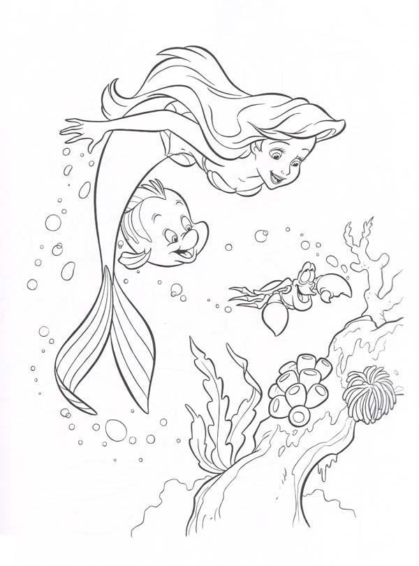 Free Little Mermaid Col