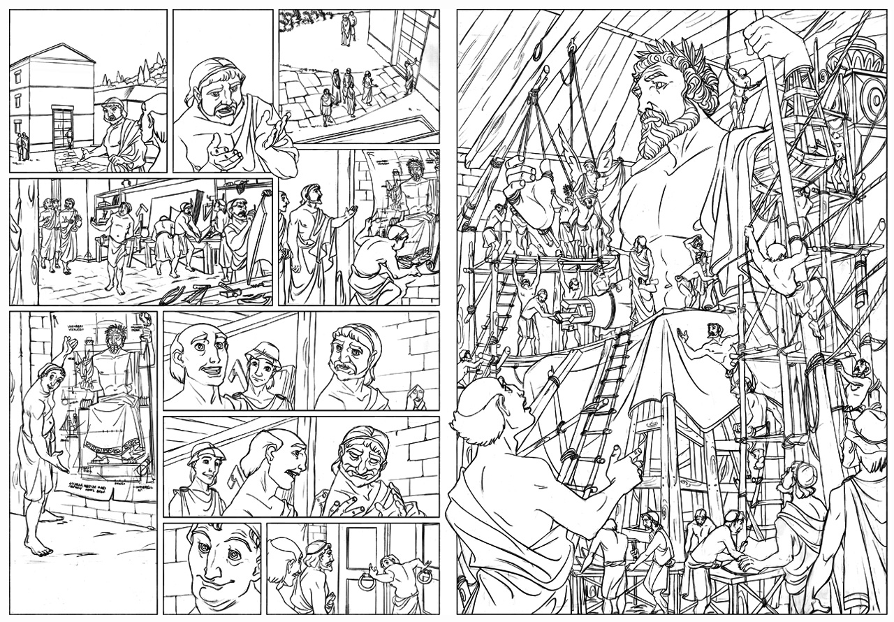 Comics coloring pages - a-k-b.info