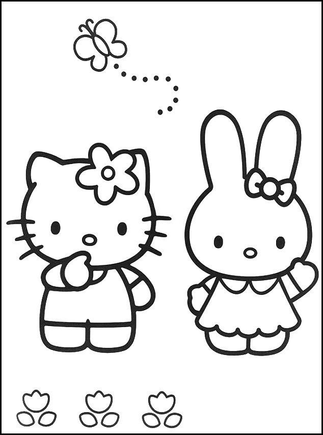 Cartoon character coloring pages to download and print for ...