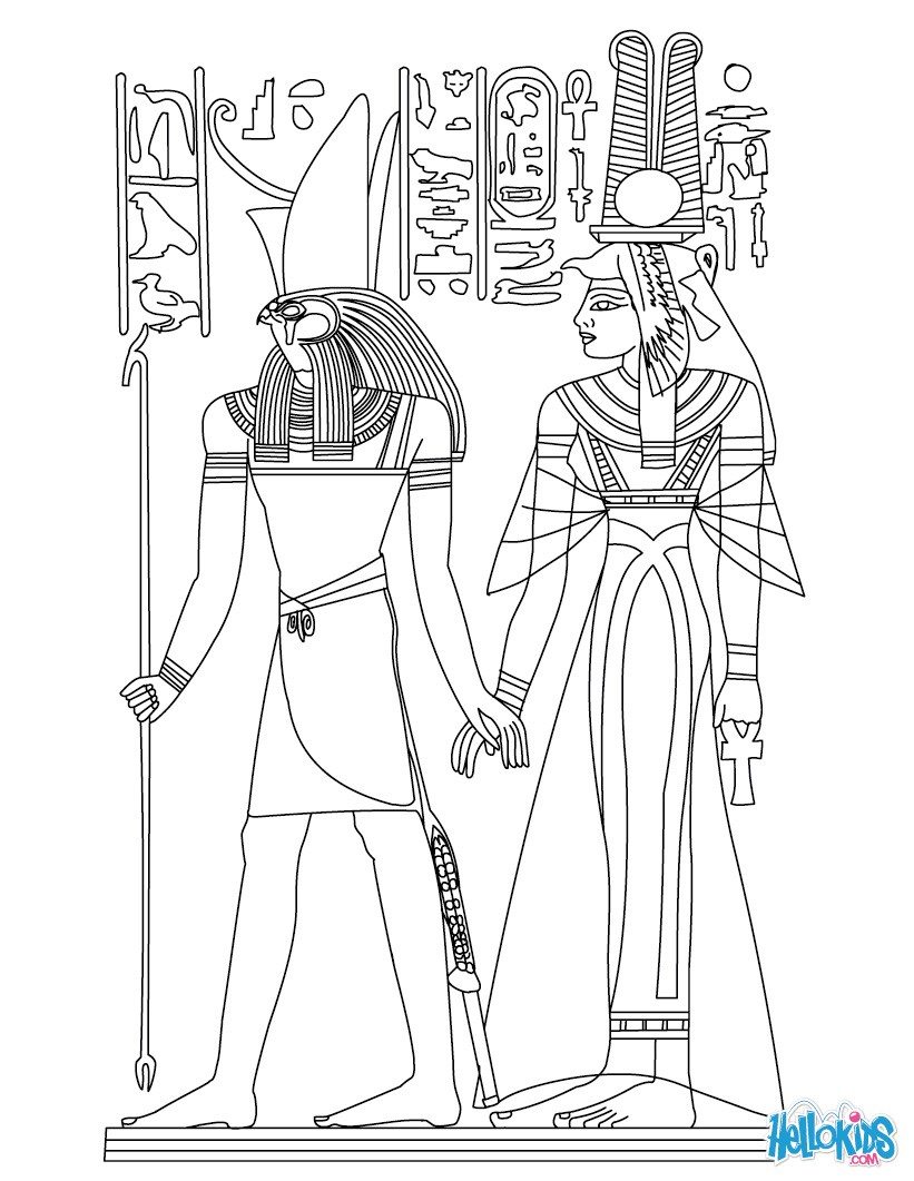 ancient egypt maps coloring pages - photo#37