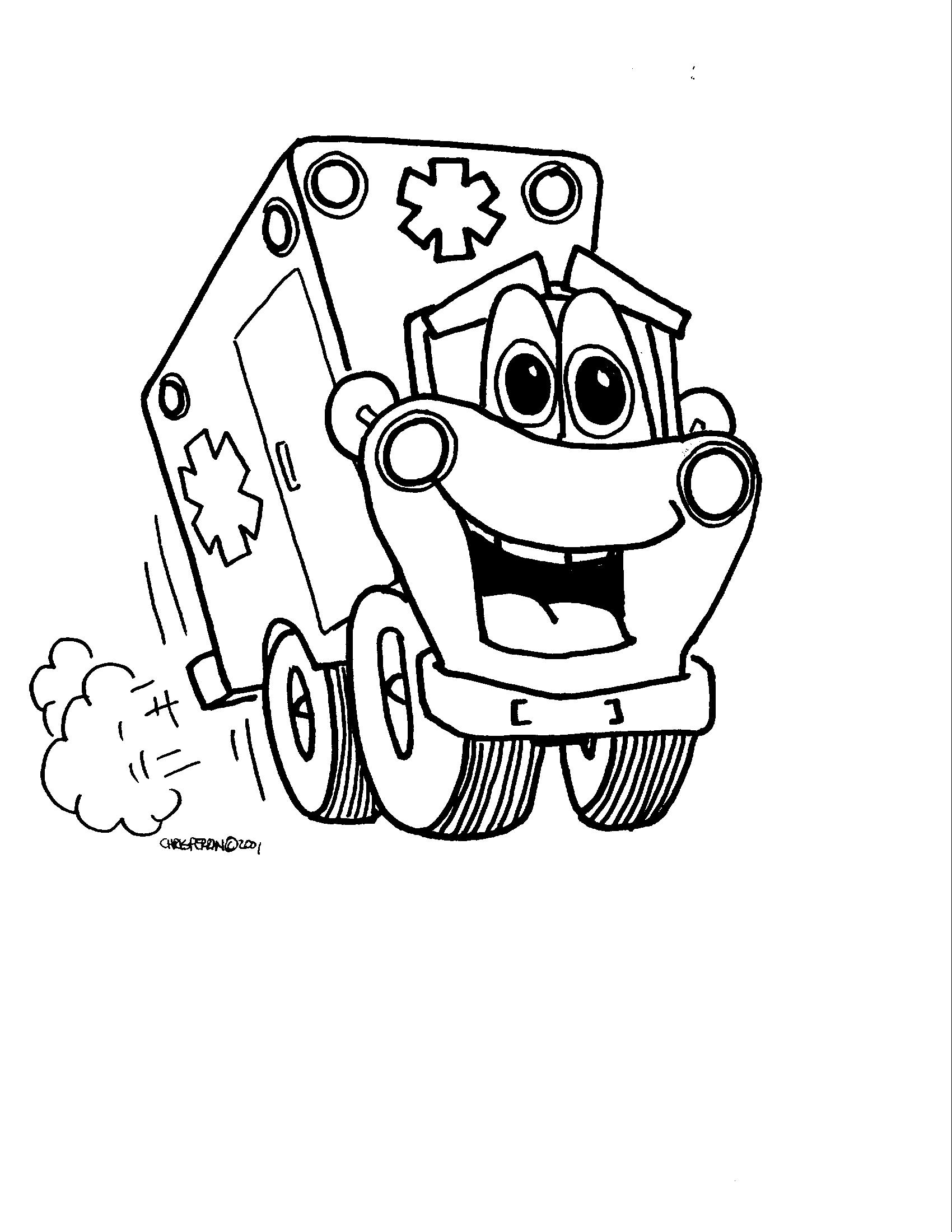 ems coloring pages - photo#16
