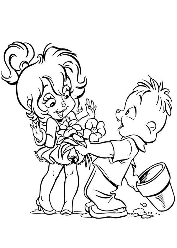 the chipettes coloring pages - alvin chipettes coloring pages download and print for free