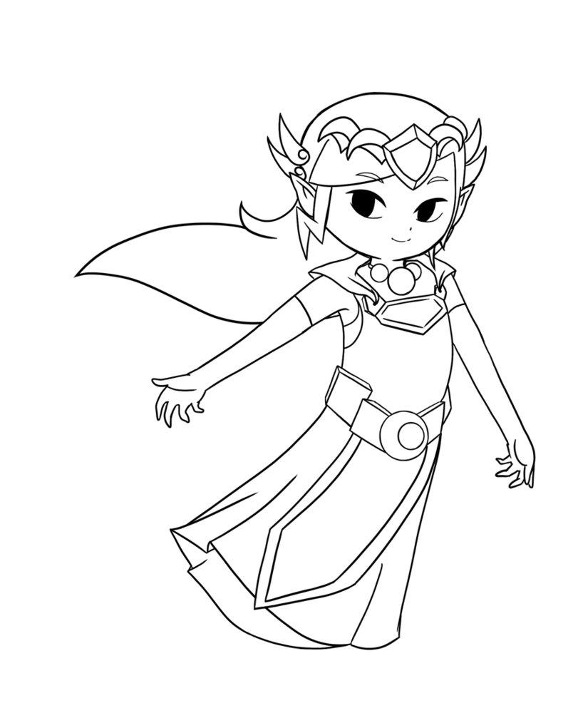 Princess zelda coloring pages - Free Coloring Pages Zelda Flintstones Coloring Pages