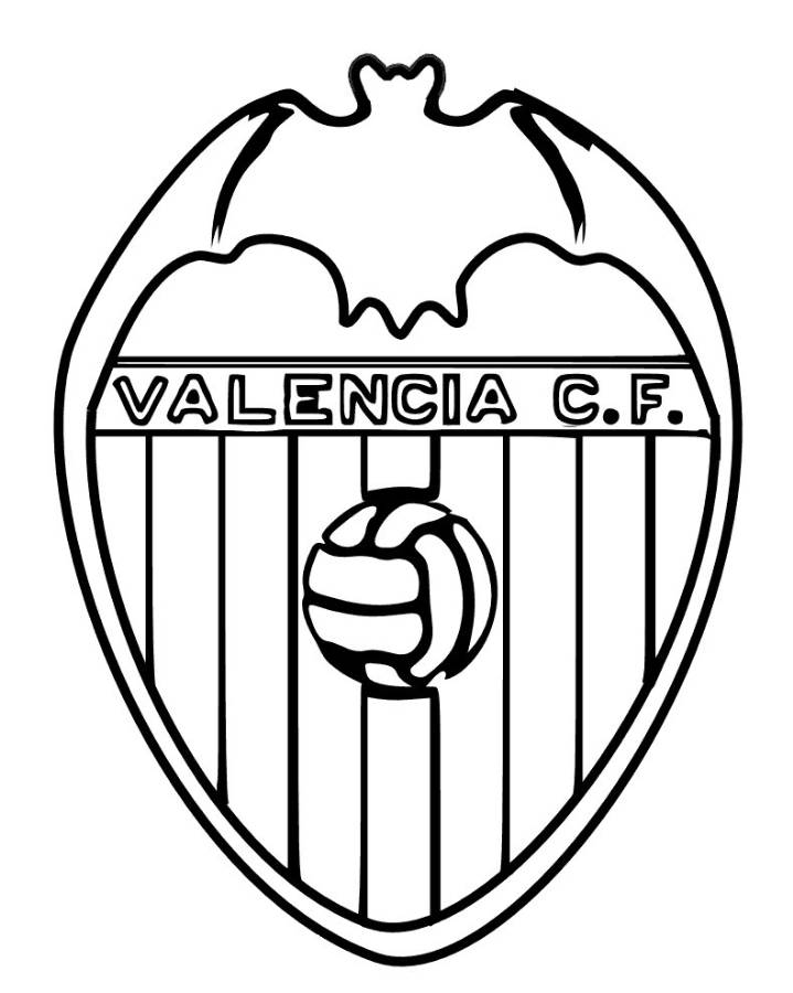 Soccer logos coloring pages download