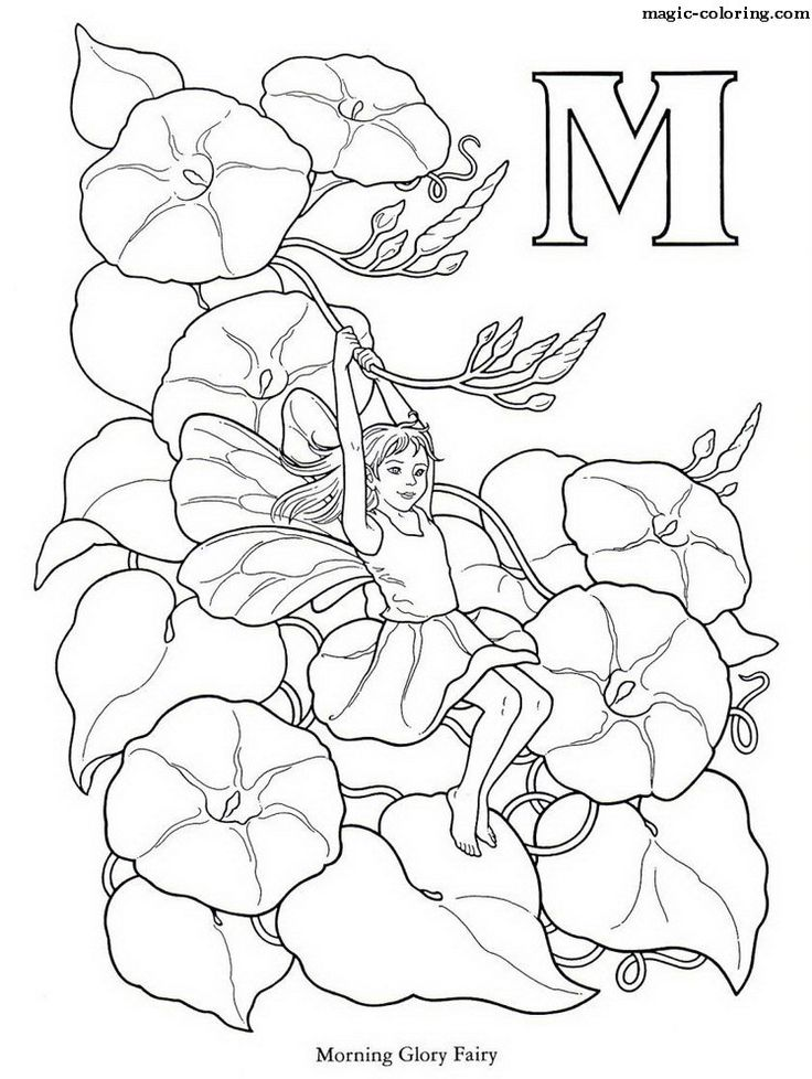 coloring page alphabet - fairy alphabet coloring pages download and print for free