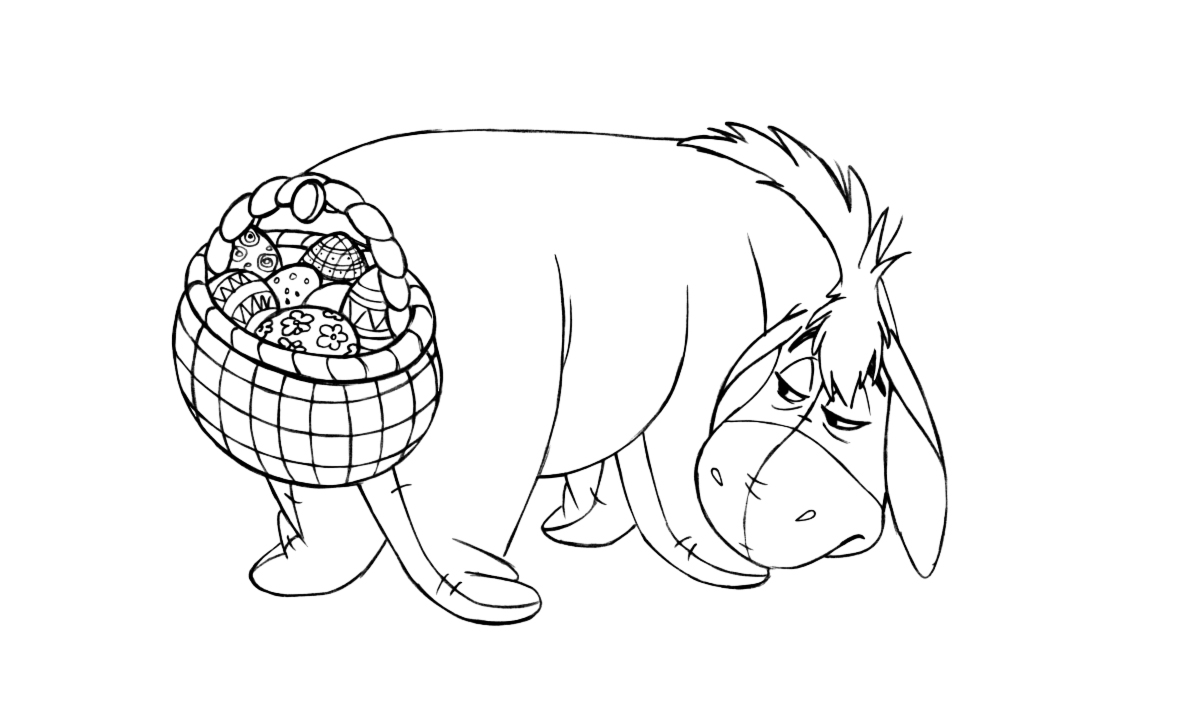 disney easter coloring pages - Coloring Pages Easter