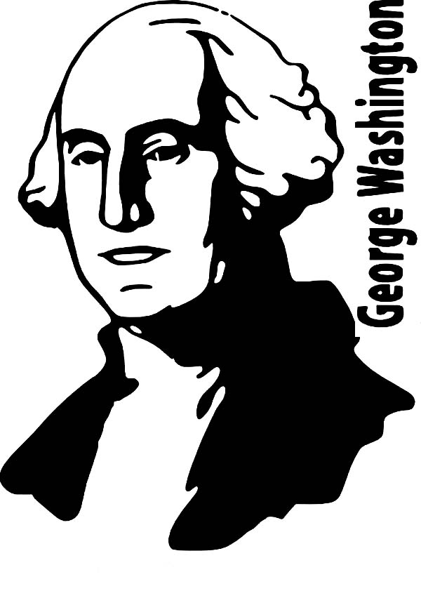 President George Washington Coloring Pages Download And