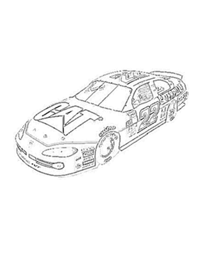 nascar free printable coloring pages - photo#20