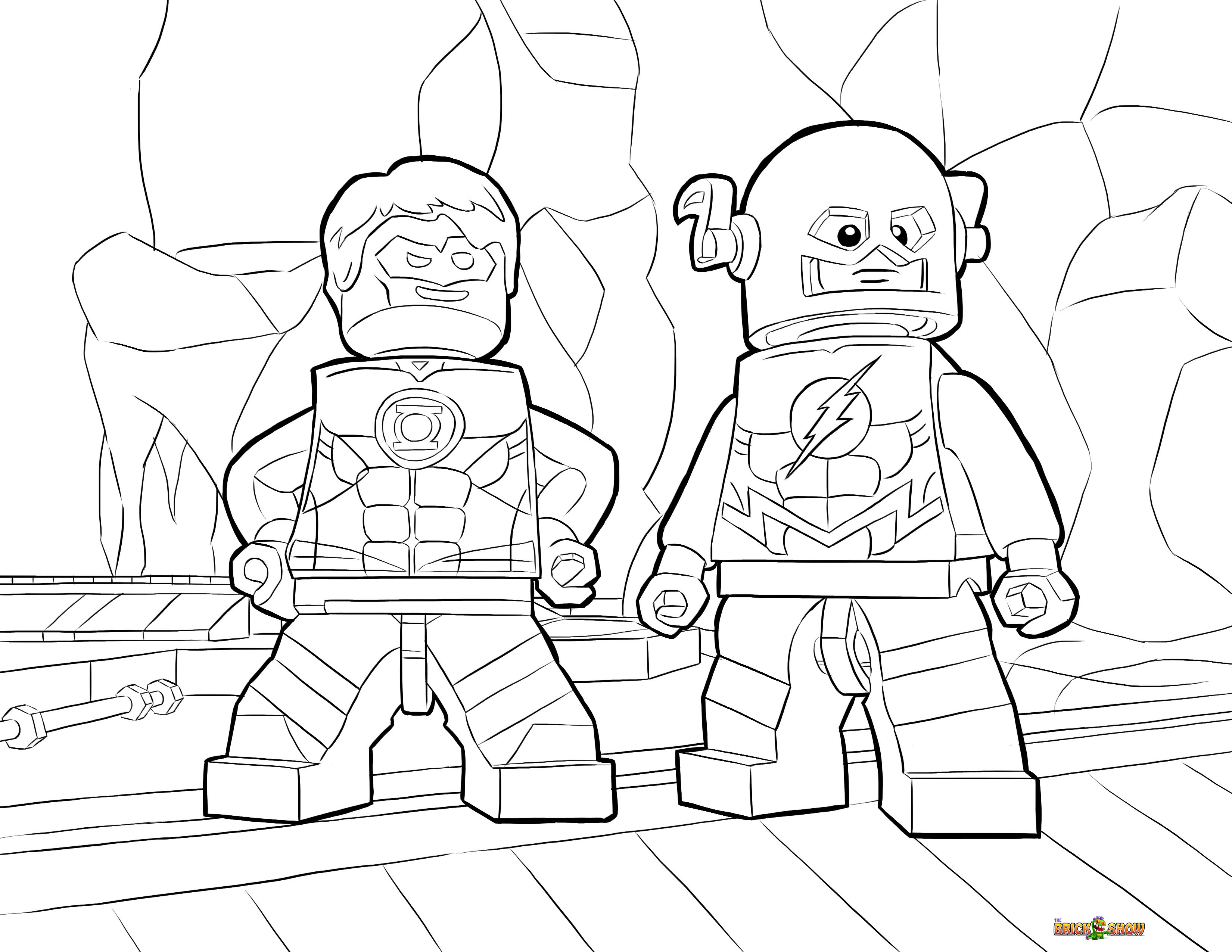 This is a picture of Stupendous Coloring Pages Lego Batman
