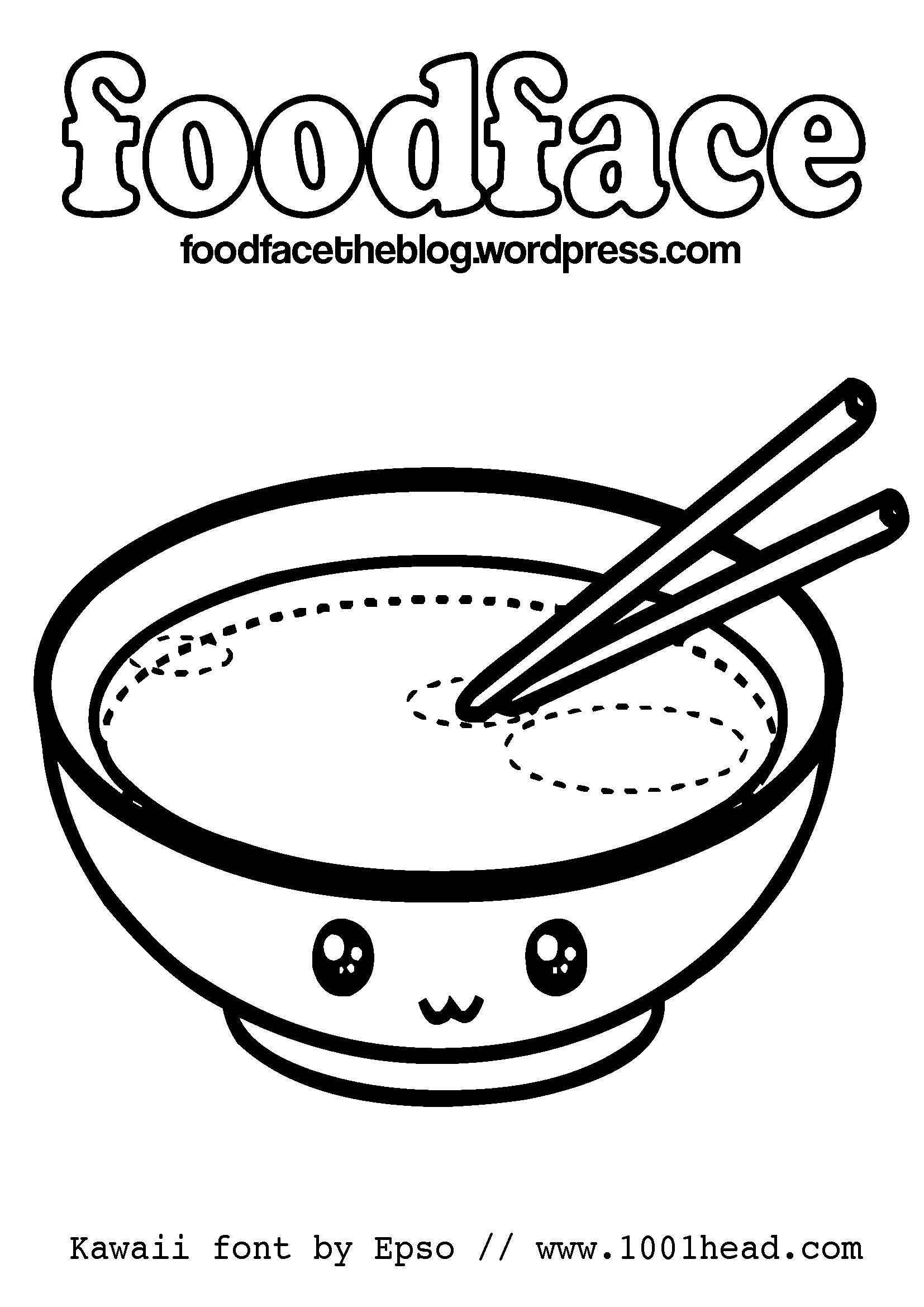 Kawaii coloring pages to download