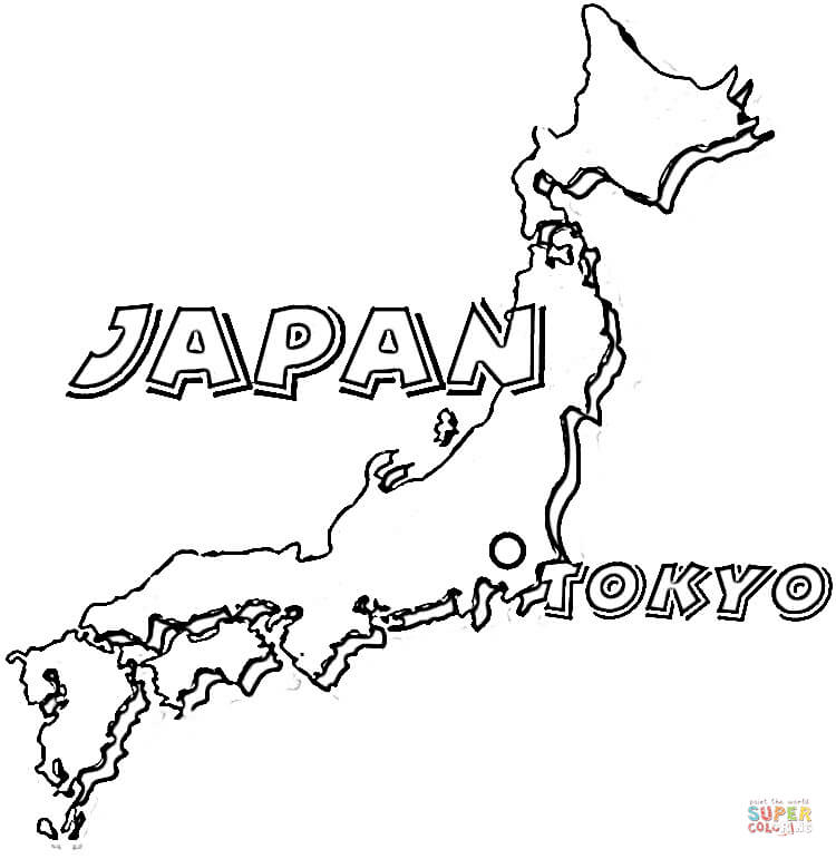 japan coloring pages