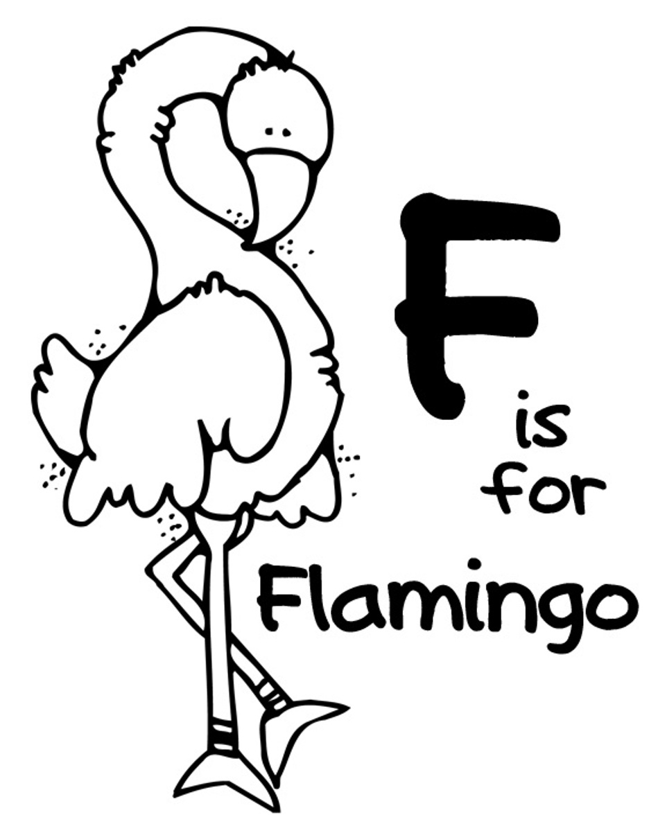 Kleurplaat Flamingo Jungle Flamingo Coloring Pages To Download And Print For Free