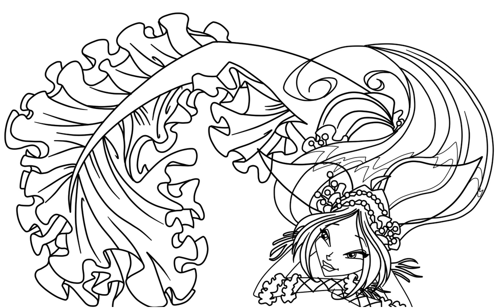 Fantasy coloring pages to download