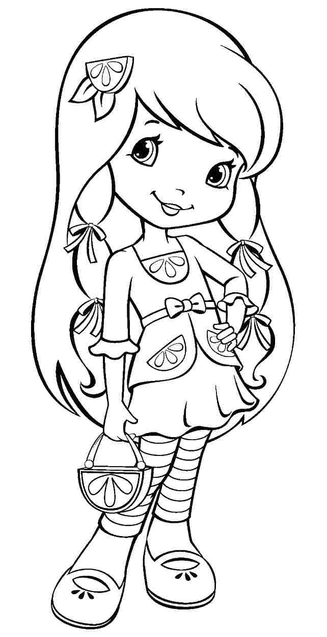 cartoon coloring pages for free - photo#41