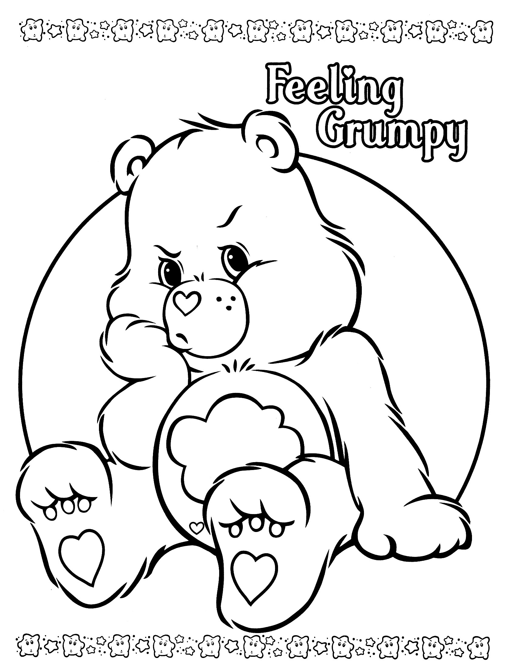 carebear coloring pages - photo#9